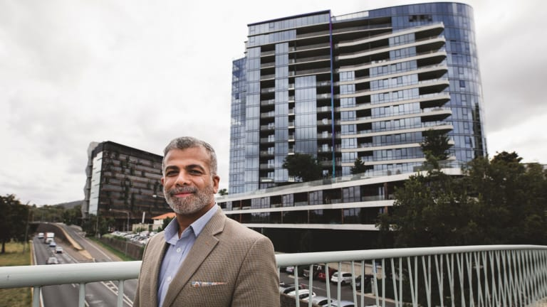 Isaac Karachepone is a resident of the NewActon South building.