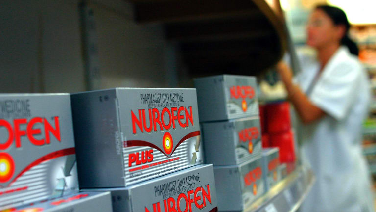 """Nurofen Plus contains codeine, which the TGA says is """"increasingly a drug of abuse in Australia""""."""
