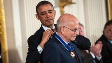 Economist Daniel Kahneman was awarded the Presidential Medal of Freedom by former US President Barack Obama. His story along with Amos Tversky is told in The Undoing Project.