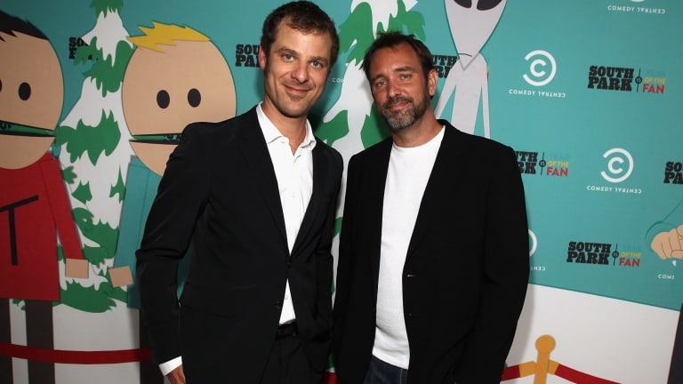 South Park creators Matt Stone and Trey Parker.
