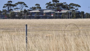 A high school next to the site in Werribee.