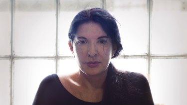 Marina Abramovic: Dealing with emotional anguish.