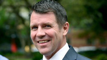 "NSW Premier Mike Baird: ""We are now at a fork in the road""."