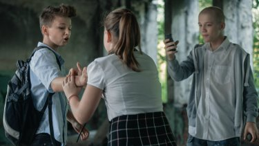 The Polish film Playground has shocked audiences with its graphic depiction of violence committed by children.