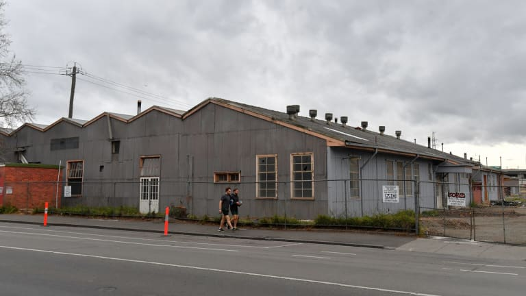 Laurens Hall is set to be removed to make way for the new Arden Station as part of the Melbourne Metro Rail Project.