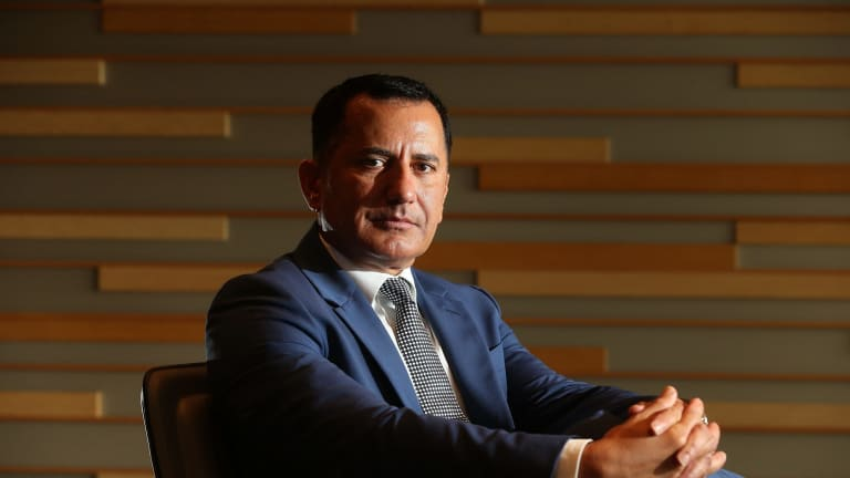 Chief executive of Westpac's consumer bank, George Frazis, says the lender is seeing few signs of stress in the apartment market.