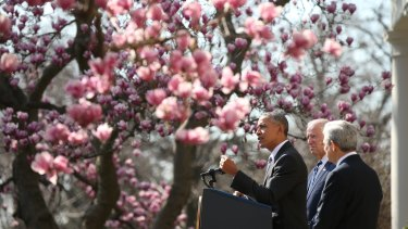 """Garland said it was """"a great privilege to be nominated by a fellow Chicagoan""""."""