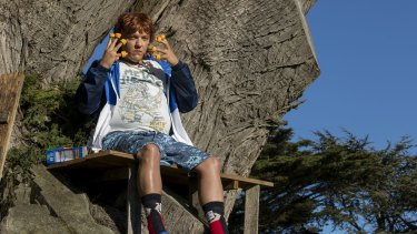 Chris Lilley as Year 7 student Gavin McGregor.