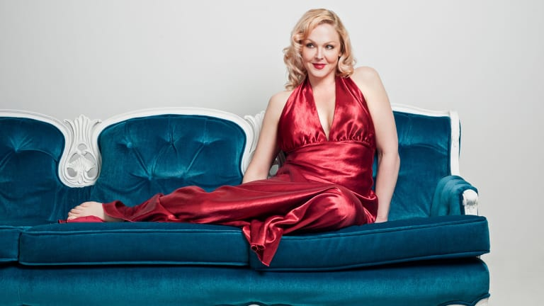 Singer Storm Large shot to fame in 2006 as a contestant on Tommy Lee's reality television show <i>Rock Star: Supernova</i>.