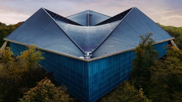 The new Design Museum in Kensington, London.