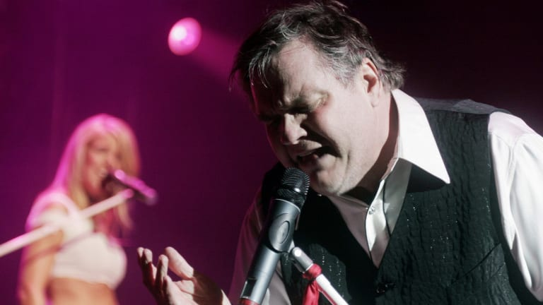 Meat Loaf performs at New York's Madison Square Garden in 2007.