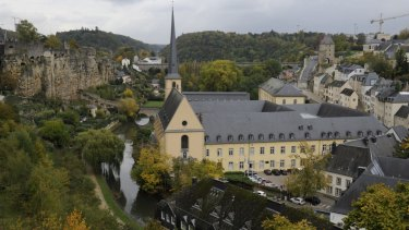 The low city in Luxembourg City. Amazon has used the low-tax nation to reduce its tax bills.
