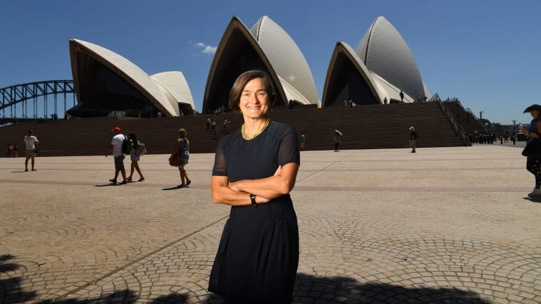 """Sydney Opera House chief executive Louise Herron """"it absolutely makes sense"""" to renew the World Heritage-listed building."""