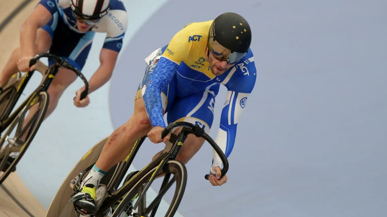 Canberra cyclist Nathan Hart is gunning for gold at Gold Coast Commonwealth Games.