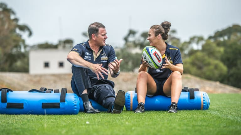 ACT Brumbies women's coach Tony Doherty has backed Super W to become a professional competition.