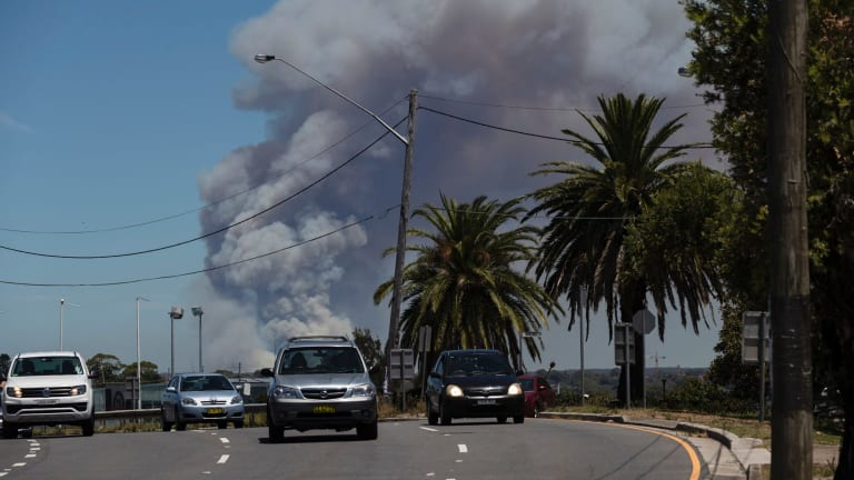 Fires, such as the ones that broke out in the Royal National Park last weekend, could affect holiday plans for the long weekend.