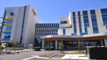The Monash Children's Hospital in Clayton, in Melbourne's south-east.