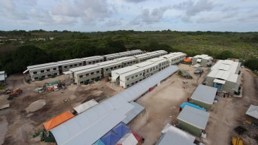 The Australian-funded asylum seeker processing centre on Nauru.