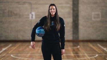 Canberra Capitals new recruit Lauren Scherf