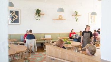 Scandi vibes: Port of Call cafe in Sandringham.
