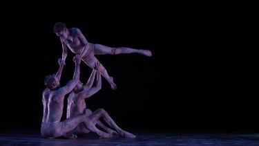 Dancer Luke Currie-Richardson of Bangarra Dance Theatre.