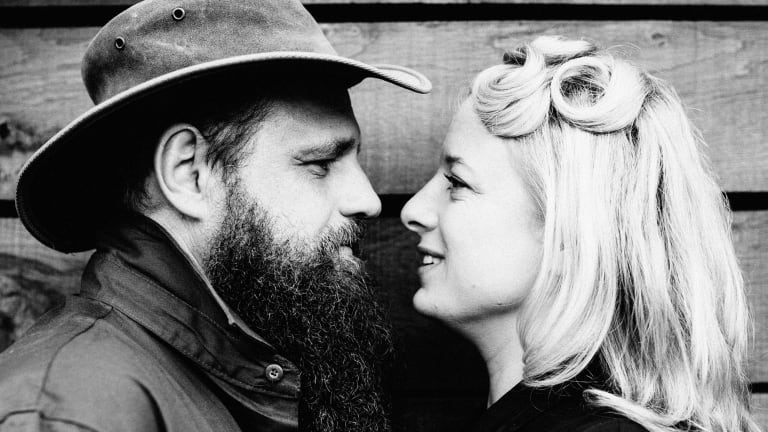 Hat Fitz and Cara: Touring and in love.