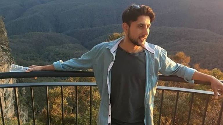 Caltex service station attendant Zeeshan Akbar was fatally stabbed while at work.