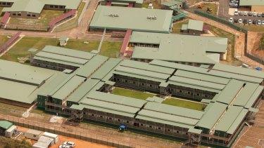 The Wickham Point Immigration Detention Centre, 50 kilometres outside Darwin.