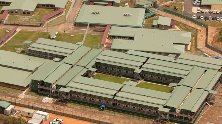 The Wickham Point Immigration Detention Centre, 50 kilometres outside Darwin.
