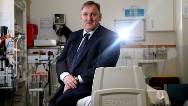 Healthscope chief executive Robert Cooke is expanding in Australia.