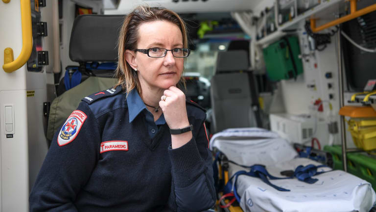 Paramedic Darelle Bartlett was a victim of violence while working.