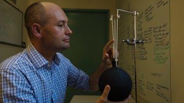 Associate Professor Ollie Jay, the director of Sydney University's Thermal Ergonomics Laboratory.