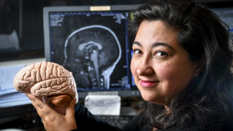 Cognitive neuroscientist Dr Sharna Jamadar is part of a group of all-female scientists who are heading to Antarctica in December.