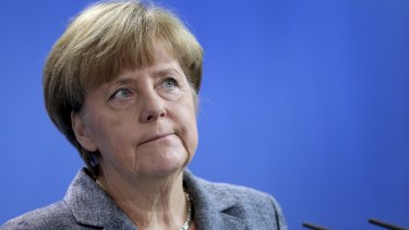 "The German response ""can make us proud,"" Chancellor Angela Merkel said."