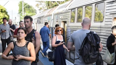Sydney Trains is having to make greater use of older trains in its fleet.