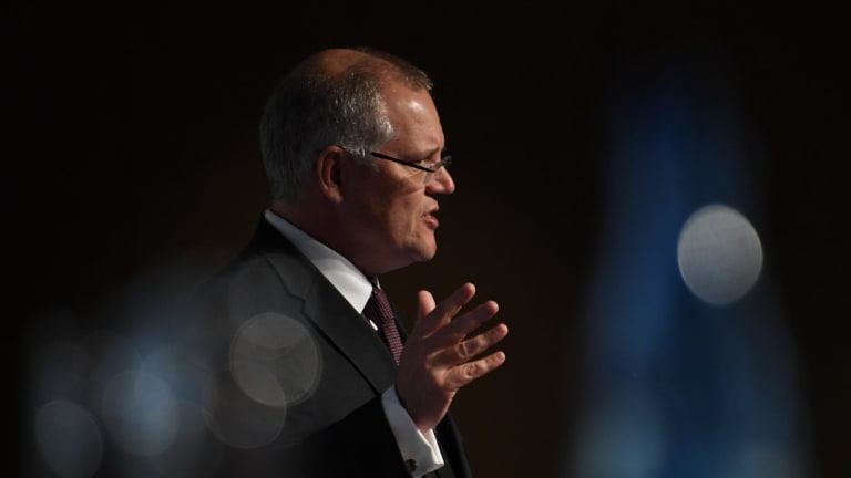 Treasurer Scott Morrison says his is trust is dormant.