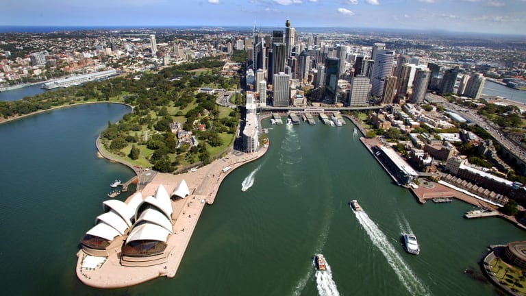Australia has too few sizeable cities.