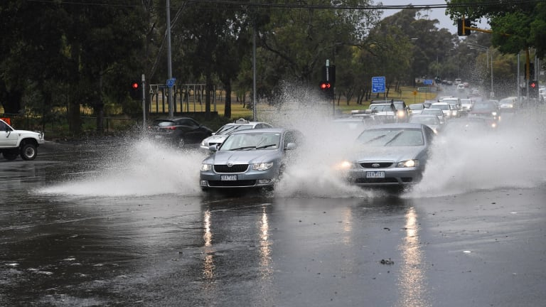 Heavy rain is forecast to arrive in Melbourne by Friday.
