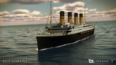 After starting with great fanfare, the Titanic II project hit rough water.