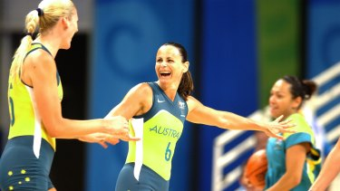Sandy Brondello had a stellar career for the Opals, and played in three Olympics.