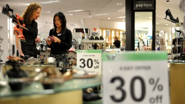 Younger workers aren't that concerned with penalty rates, says Myer chief Richard Umbers.