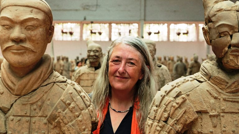 Mary Beard visits the Terracotta Army sculptures in China in Civilisations.