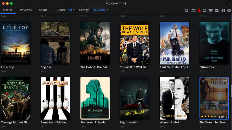 netflix for pirates popcorn time now available in your web browser