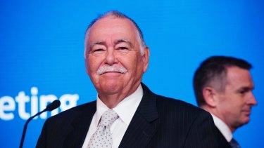 """ASX chairman Rick Holliday-Smith: """"We punch above our weight."""""""