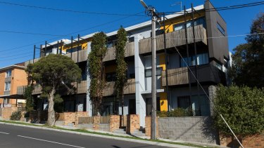 A completed Property Collectives development in McCracken Avenue, Northcote.