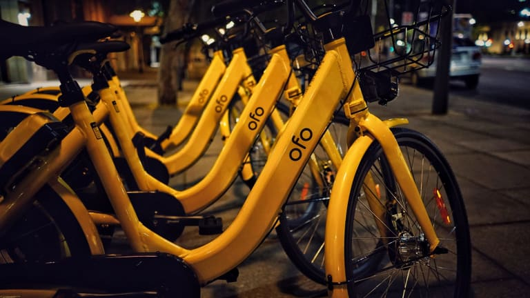 Hundreds more share bikes, this time from Ofo, will appear in Sydney.
