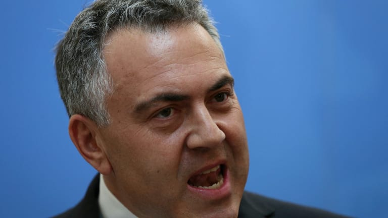 """Treasurer Joe Hockey"""" """"There is no suggestion of a risk. None."""""""