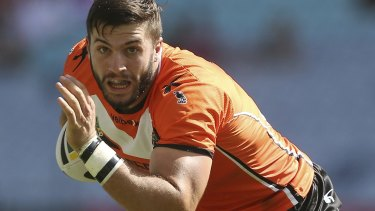Bad luck: James Tedesco is unavailable for Origin selection after copping a shoulder injury.