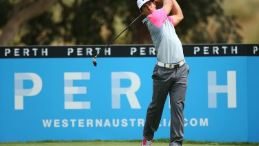 Young Dane Thorbjorn Olesen takes the lead into the final day of the Perth International.