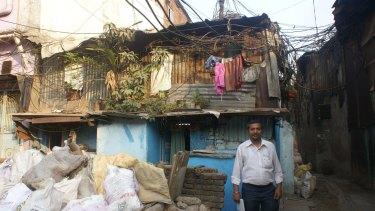 A corner of the Dharavi slum.